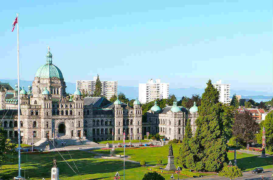 Victoria Airport Car Rental in Canada