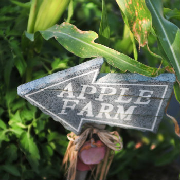 Apple Farm Sign in Montreal