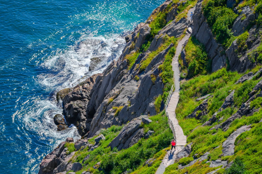 Cabot Trail in St. John's Newfoundland, Canada
