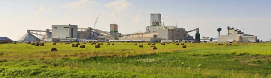 canadian potash mine near saskatoon saskatchewan