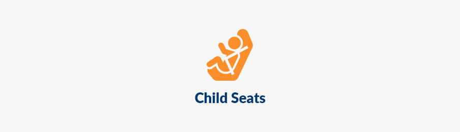 Child seats for hire car in Canada banner