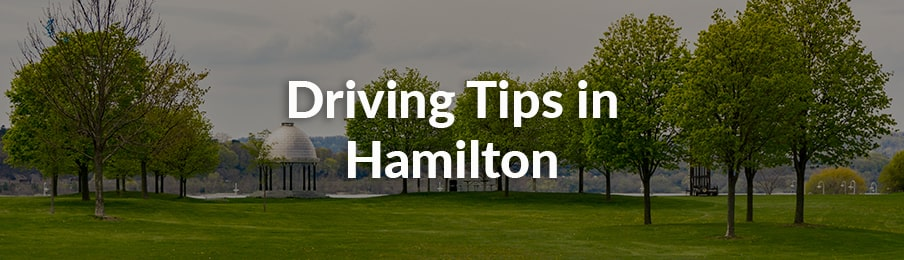 Driving Tips in Hamilton