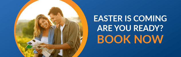 Easter booking reminder banner