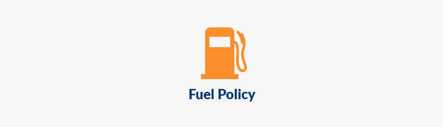 Fuel policy in CA banner