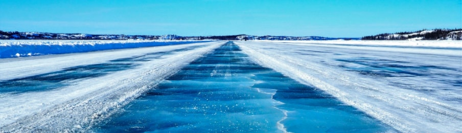 Ice Road, Yellowknife