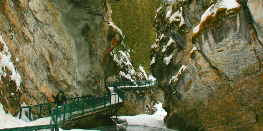 amazing Johnston Canyon