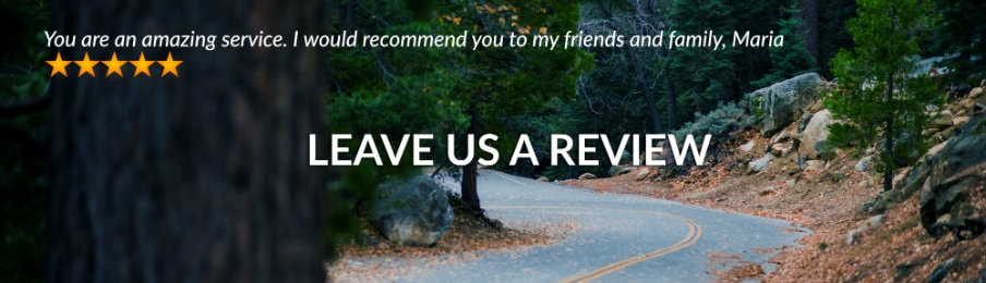 Leave a review CA banner