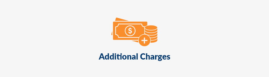rental car additional charges in CA banner