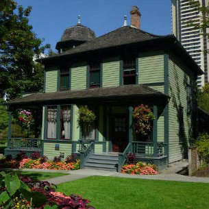 Rodde House Museum in Vancouver