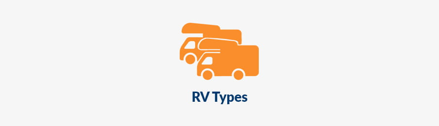 RV Types in CA banner