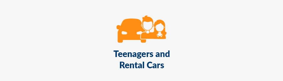 teenagers and rental cars