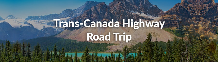 trans-canada highway road trip