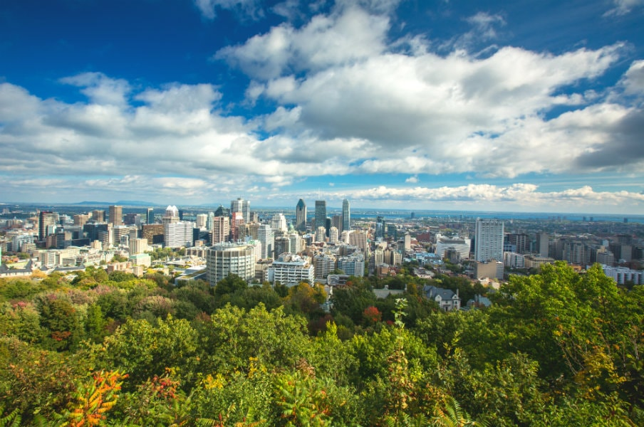 View of Montreal, Quebec
