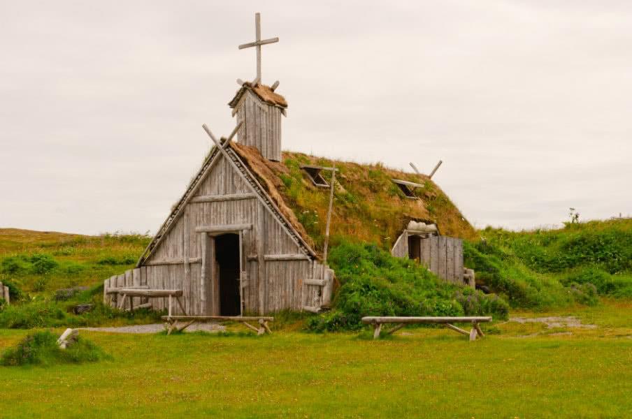 Viking house in Newfoundland