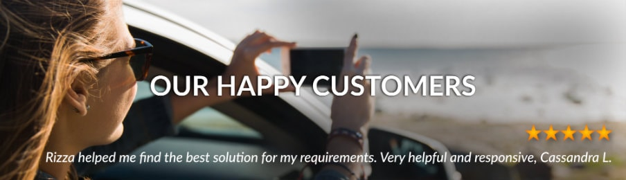CA customer reviews banner