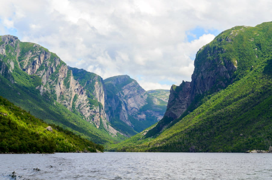 Western Brook Pond, Newfoundland, Canada